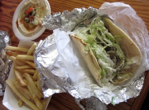 Gyro lunch deal