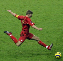 Let's throw in a Gerrard pic, because, hey, why not?