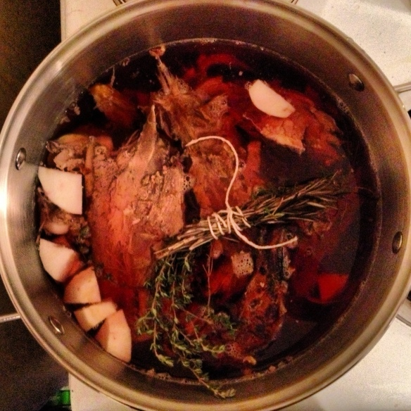 Duck broth