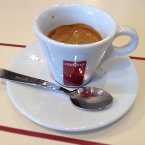 Espresso at Lavazza